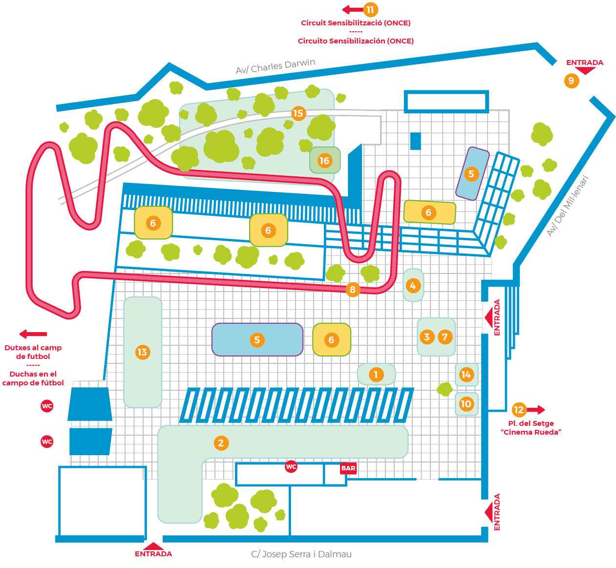 Mapa CambriBike